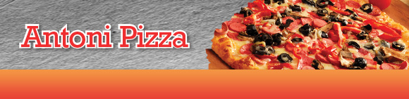 Antoni Pizza Bundbanner